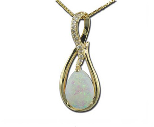 Opal is the Perfect Fall Birthstone Natural-Opal-and-Diamond-Pendant-92
