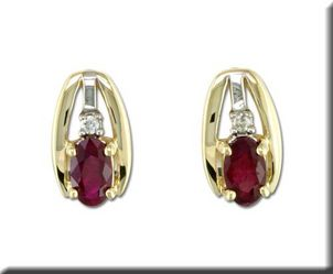 Ruby is Julys Birthstone Ruby-and-Diamond-Earrings-41