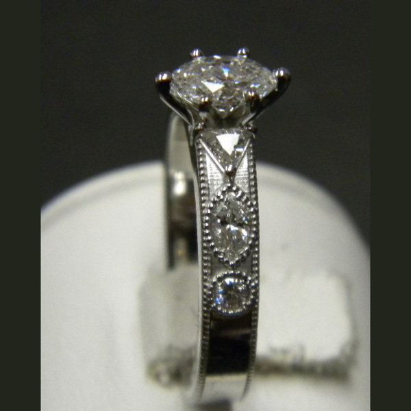 Marquis Diamond Ring Custom74-2-27