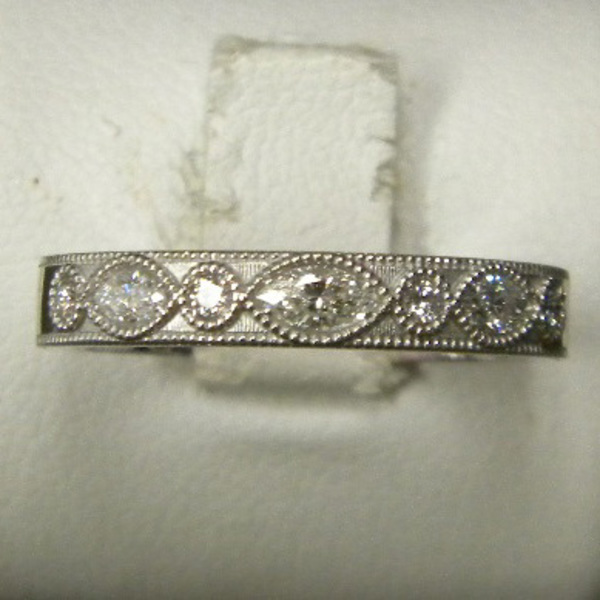 Marquis Diamond Ring Custom74-4-88