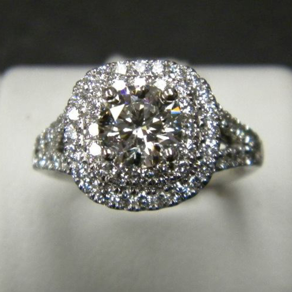 Grandmothers Diamond Becomes a Stunning Engagement Ring Custom82-1-83