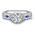 Engagement Rings--From Ancient Egypt To 21st Century America  EngagementRingColoredStones-49