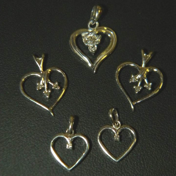 Heart Pendants for 3 Generations Heart Pendants-49