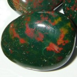 Bloodstone: Marchs Green and Red Birthstone