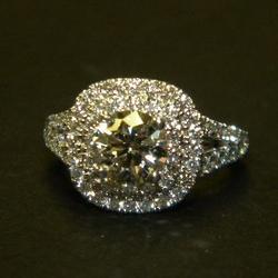 Grandmothers Diamond Becomes a Stunning Engagement Ring